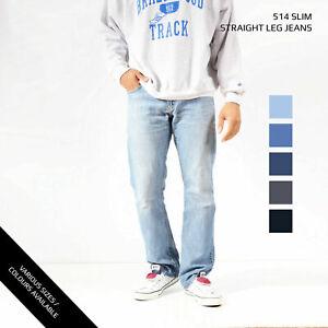 Vintage Levis 514 Slim Jeans Jambe Droite Jeans Grade A W30 W32 W34 W36 W38 W40