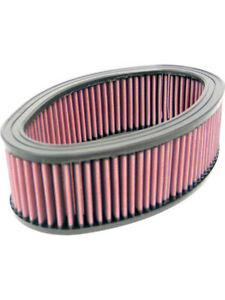 K&N Oval Air Filter FOR PLYMOUTH BELVEDERE II 273 V8 4 BBL. (E-1957)