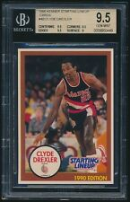 1990 Kenner Starting Lineup Cards #4B Clyde Drexler BGS 9.5