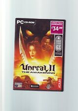 UNREAL II 2 THE AWAKENING - 2002 FPS SHOOTER PC GAME - ORIGINAL & COMPLETE - VGC