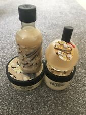 The Body Shop Warm Vanilla Bundle Yoghurt Butter Shower Gel Shimmer Mist