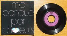 """RARE SP 1970 PROMO Hors Commerce BOF """"Ma banque par chœurs"""" François DE ROUBAIX"""