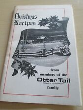 Vintage Otter Tail Power Family Christmas Recipes Cookbook