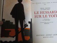 Lithographies originales de Minaux / Le Hussard sur le toit / Giono / Sauret