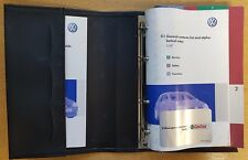 GENUINE VW GOLF  HANDBOOK OWNERS MANUAL WALLET 2004-2008 PACKA-479  !