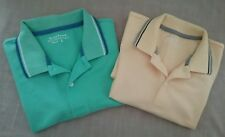 Giordano women's polo shirts x 2 size L trendy mint,butter yellow quality