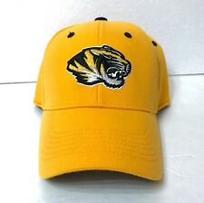 6efd688cb76 MIZZOU TIGERS HAT Top of the World Yellow Black Curved Bill Structured Fit  OSFM