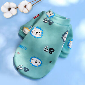 Pet Clothes Small Dog Fleece Sweater Hoodie Yorkie Chihuahua Puppy Coat Jacket #
