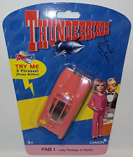 THUNDERBIRDS : ELECTRONIC FAB 1 MADE BY TAKARA IN 2003 SIGNED BY DAVID GRAHAM