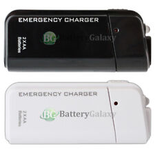 USB Emergency Portable 2AA Battery Charger for Apple iPhone 11/11 Pro/11 Pro Max