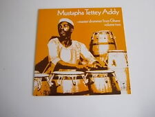 Mustapha Tettey Addy master drummer from Ghana Volume Two TGS 139 LP