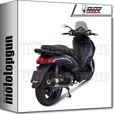 MIVV FULL SYSTEM EXHAUST HOMKAT URBAN PIAGGIO BEVERLY TOURER 300 2009 09 2010 10