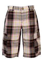 Karierte Hosengröße W30 Herren-Shorts & -Bermudas in normaler Größe