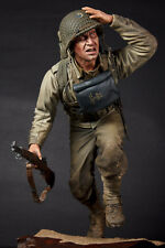 "CUSTOM 1/6 SCALE RESIN KIT/ WWII US GI ""D-DAY"" NORMANDY (29TH ID - BIG RED 1)"