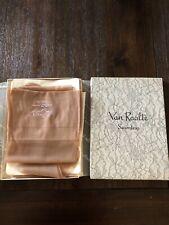 Van Raalte Vintage Hosiery Stockings In Original Box 2 Pairs Seamless Size 9 1/2