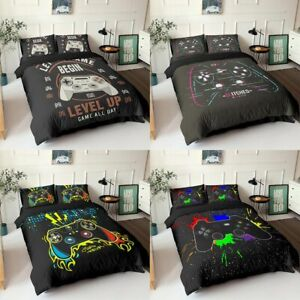 Bedding Set Duvet Cover Creative Black Comforter Bed Cover Set Bedclothes 2/3pcs