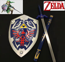 Zelda Link's master sword twilight princess w/ scabbard and Shield set