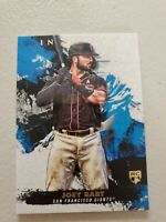 JOEY BART 2021 TOPPS INCEPTION ROOKIE CARD #36 SAN FRANCISCO GIANTS RC