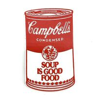 CAMPBELL'S SOUP IS GOOD FOOD Vintage Rubber Refrigerator Magnet Standings Board