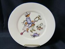 """Lenox Special Child's Plate Boy & Girl on Stick Horse Bone China Plate 8.5"""""""