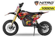 Nitro Motors 1000W Tiger 12/10 Dirtbike Elektro Crossbike E-Cross