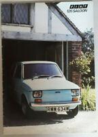 Fiat 126 Saloon Brochure 1973