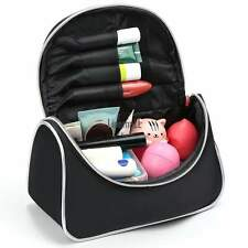 Practical Women Oxford Cloth Makeup Cosmetic Case Toiletry Bag for Travel