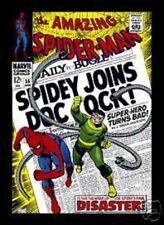 Marvel Spiderman Comic Cover fridge magnet  650   (sd)