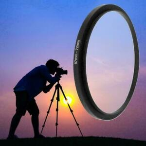 67mm To 72mm Metal Step Up Ring Lens Adapter Filter Tools H4D5 Accessories 7Y6T