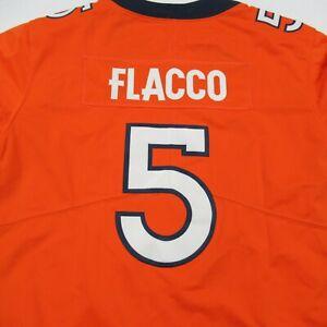 Joe Flacco Jersey Denver Broncos NFL Orange Football Large Nike NWT On Field