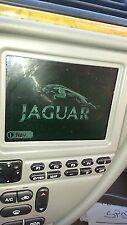 JAGUAR S-TYPE NAVIGATION GPS DISPLAY 2000 2001 2002
