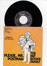 The Pat Boone Family - Please Mr Postman