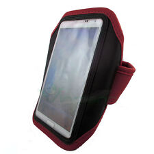 Armband per Samsung Galaxy Note 3 N9005 custodia ROSSA fascia braccio sport