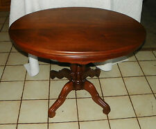 Oval Solid Walnut Parlor Table / Center Table  (T154)