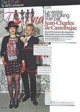 PUBLICITE ADVERTISING  2012  JEAN CHARLES DE CASTELBAJAC  vue par...