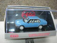 PEGO 1/43 ALFA ROMEO 90 SUPER Bleue pale!!