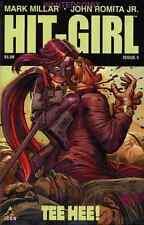 HIT GIRL #5 MARK MILLAR JOHN ROMITA MARVEL ICON COMIC BOOK KICK-ASS MOVIE NEW 1
