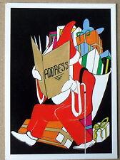 Carte postale Pere Noel bonnes adresses,Bernardin CPSM