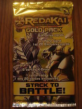 REDAKAI CONQUER THE KAIRU - GOLD PACK: 6 CARDS INCLUDING 1 RARE & 1 EXCLUSIVE