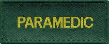 Paramedic Woven Badge Patch 10cm x 4cm