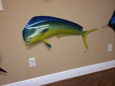 "40"" Bull Dolphin Half Mount Fish Replica (aka Mahi Mahi / Dorado)"