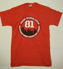 Support 81 Hells Angels NYC NEW YORK THIRD ST CREW T Shirt LARGE  NEW #006