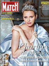 PARIS MATCH NO.3388 24 APRIL 2014 CHARLENE/GARCIA MARQUEZ/HOSTAGES/UKRAINE/FREGE