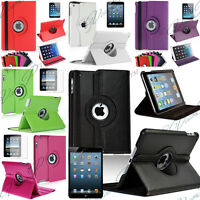 ETUI COQUE HOUSSE ROTATIF ROTATION 360 RETINA APPLE IPAD 2 3 4 5 AIR MINI NOUVEL
