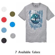 Timberland Men's Short Sleeve Shining Through T-Shirt A3K4V (U Pick Color)