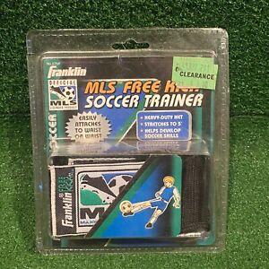 NEW Vintage 1998 Franklin Sports MLS FREE KICK SOCCER TRAINER