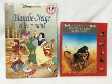 "Français ""Snow White & The Seven Dwarfs"" PLUS ""A Little Lion So Cute"" in French"
