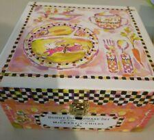 MacKenzie Childs Bunny Toddlers Dinerware Set