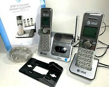 AT&T CL82407 Expandable Cordless Phone Answering System Call Block 2 Handsets