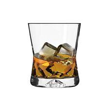 6 Verres à Whisky - Forme X - 290 ML - Sables & Reflets